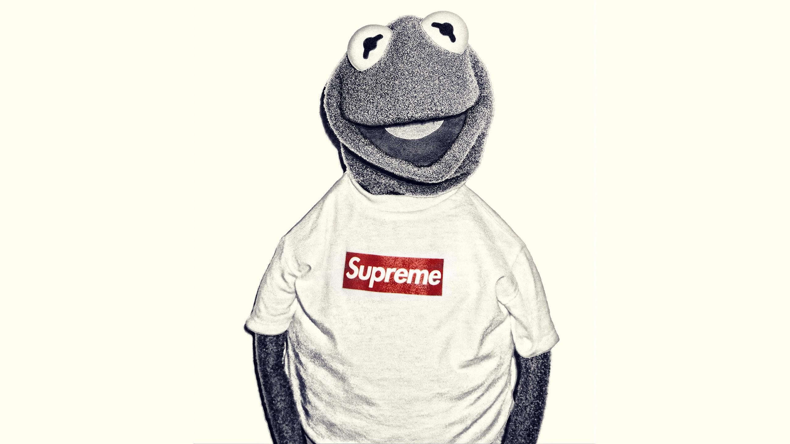 Fondos De Pantalla Supreme: Kermit Supreme Wallpaper
