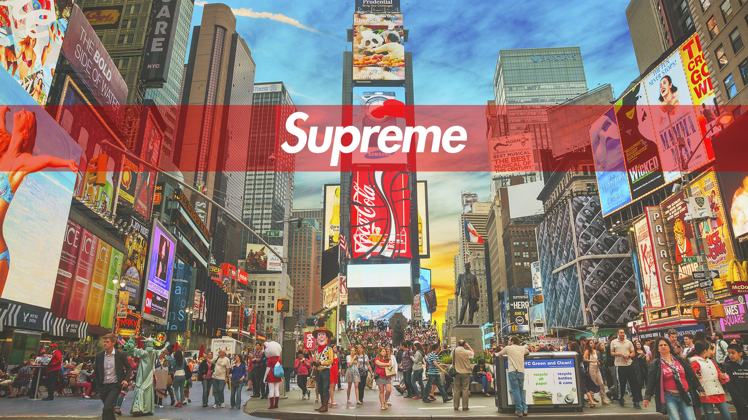 Fondos De Pantalla Supreme: NYC Supreme Wallpaper
