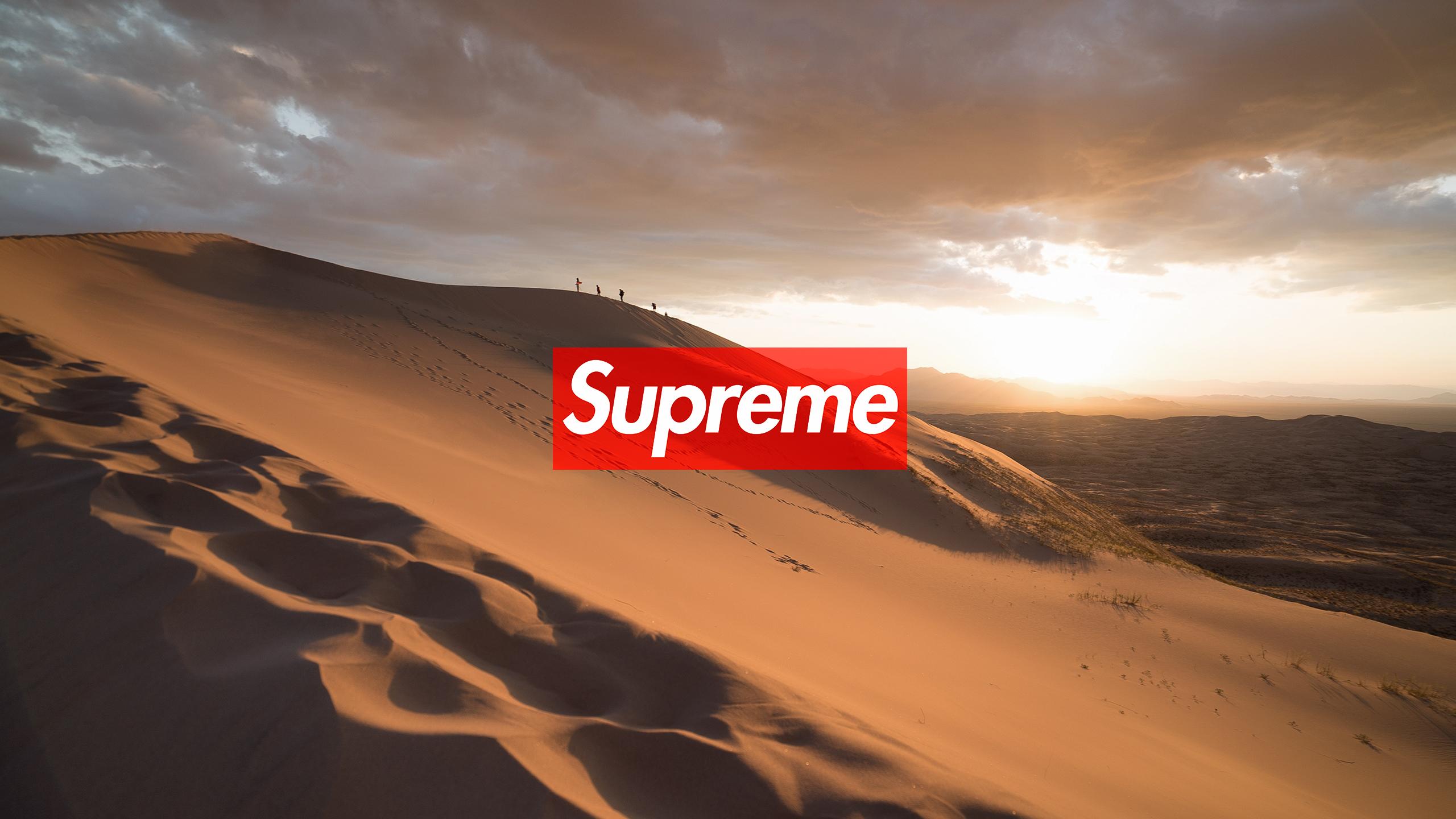 Supreme Desert Wallpaper Authenticsupremecom
