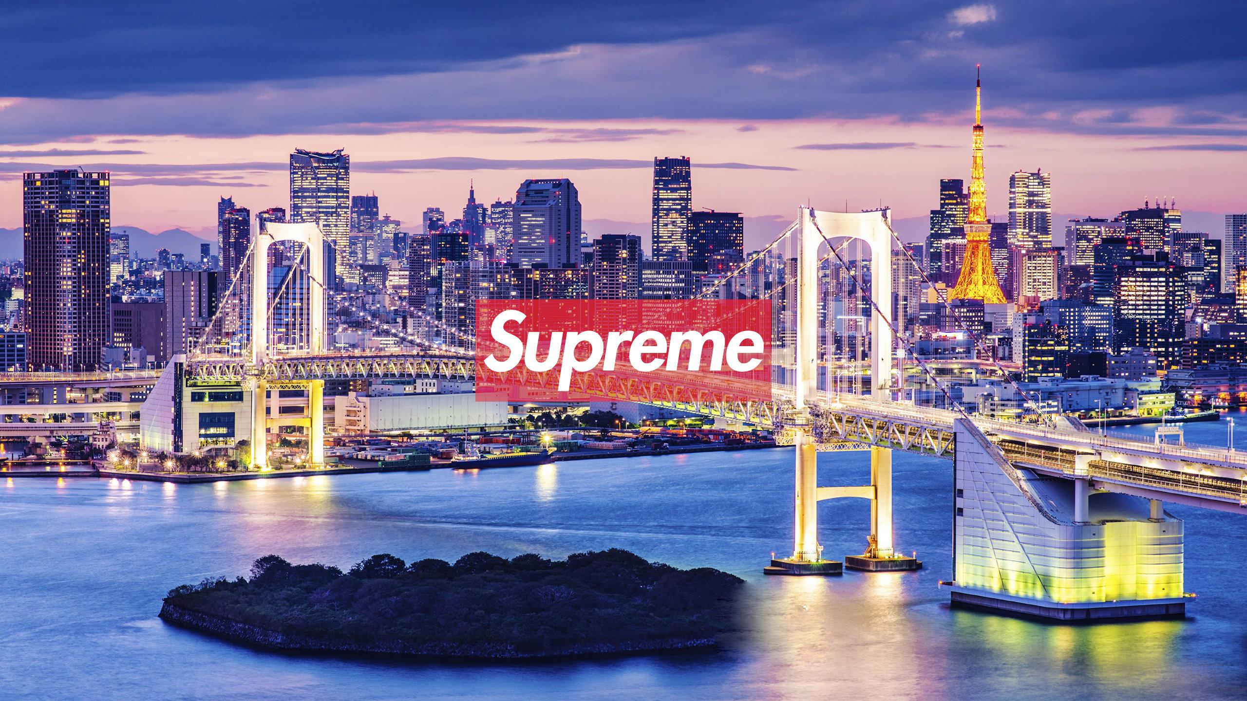 Tokyo Supreme Wallpaper Authenticsupreme Com