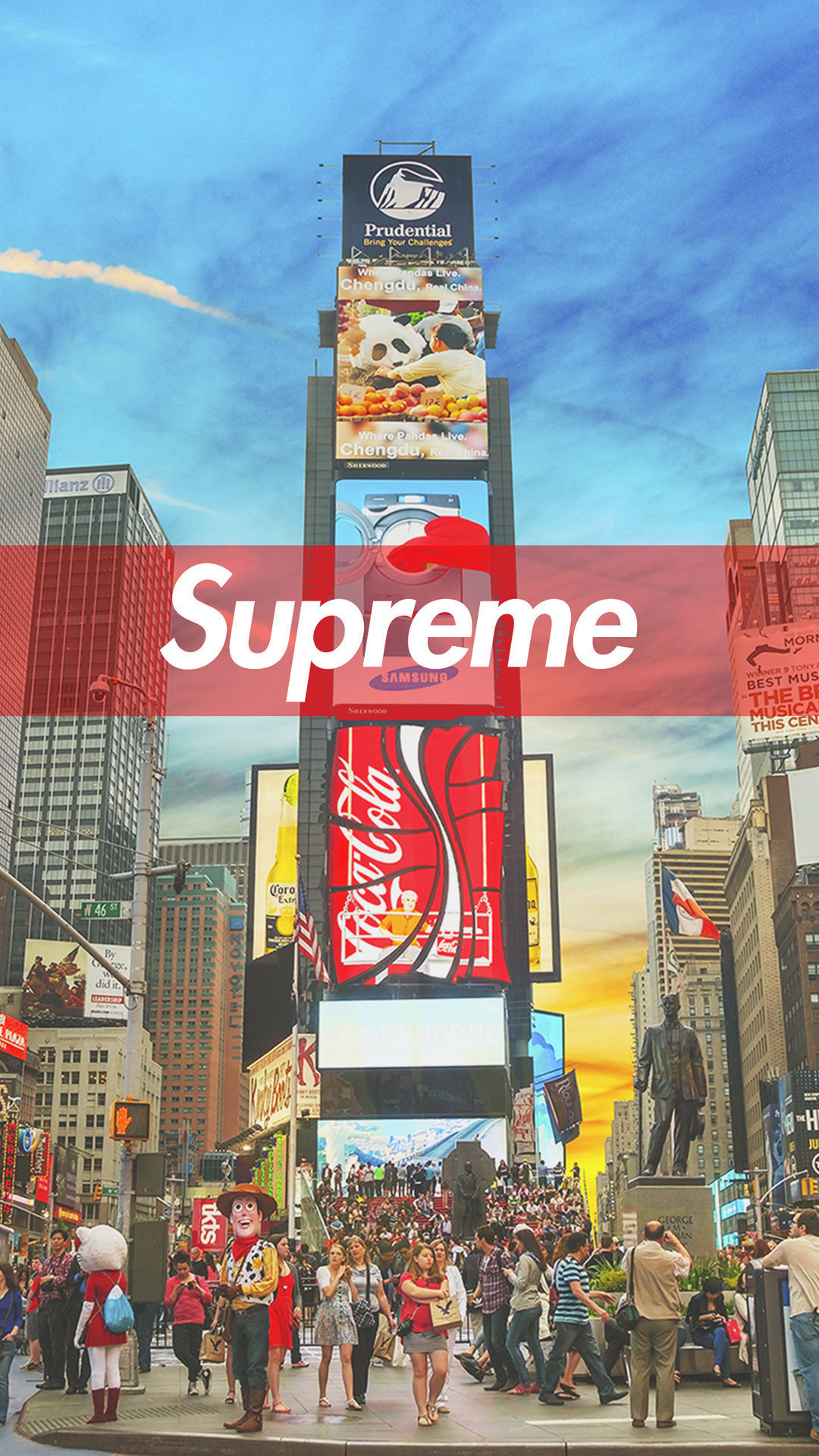 Supreme Wallpapers - Download Supreme HD Wallpapers