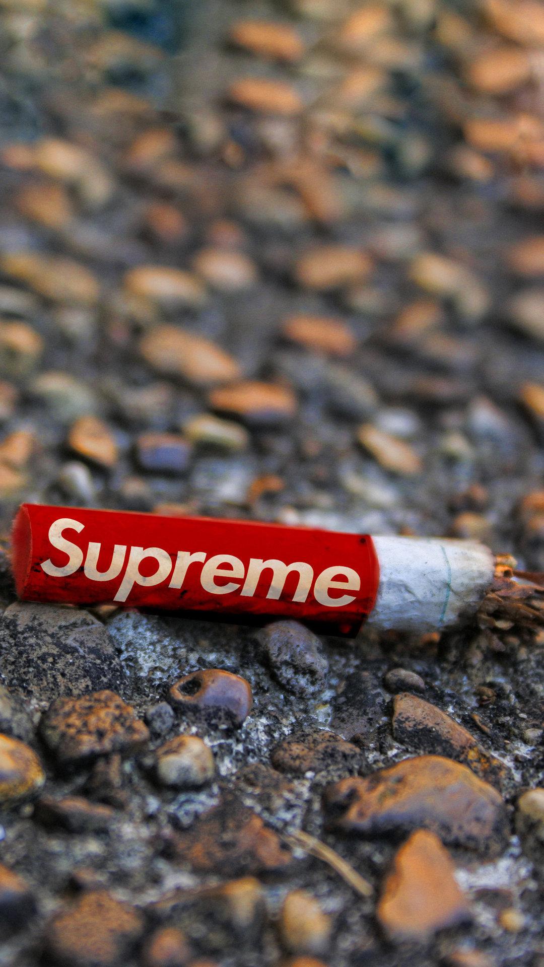 Supreme Cigarette Wallpaper