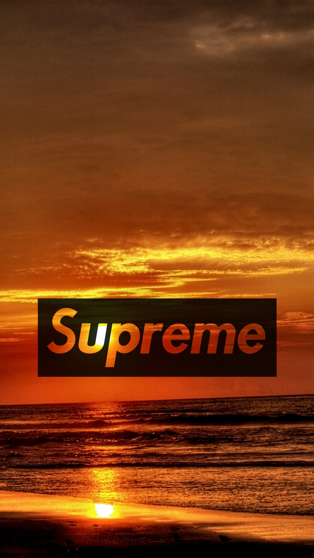 Supreme Sunset