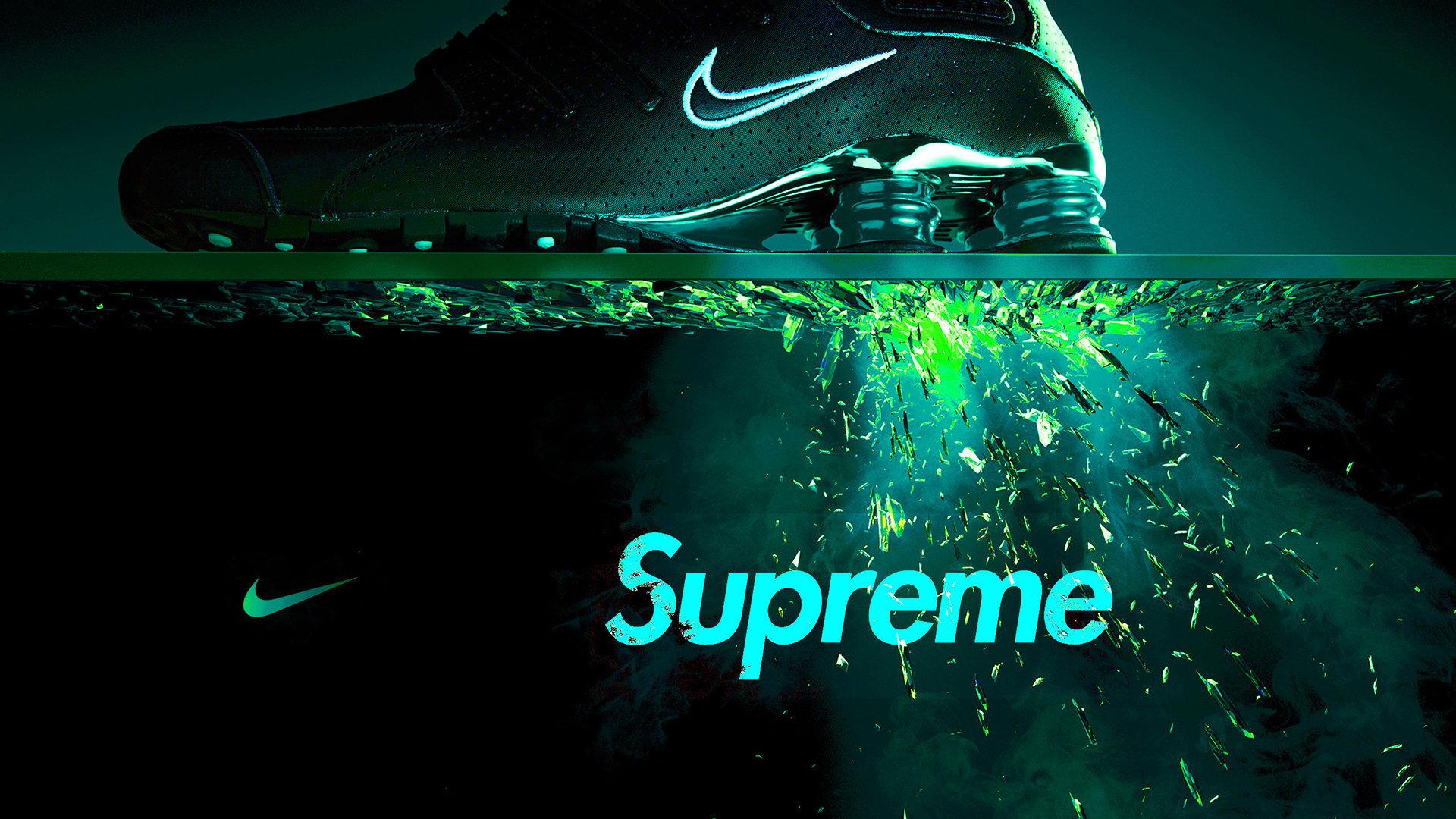 Fondos De Pantalla Supreme: Nike Supreme Wallpaper