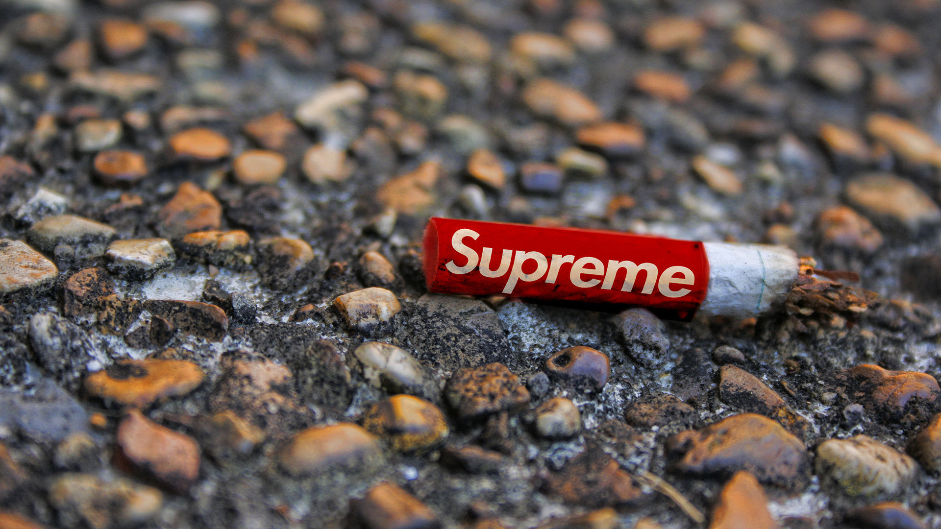Supreme Cigarette Wallpaper