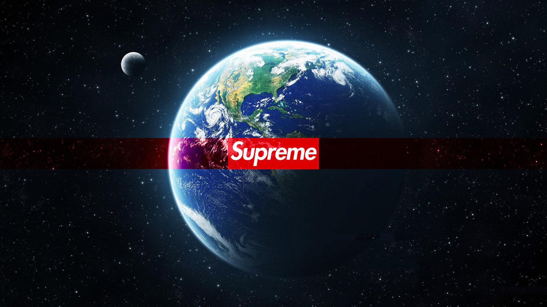 Fondos De Pantalla Supreme: Supreme Earth Wallpaper