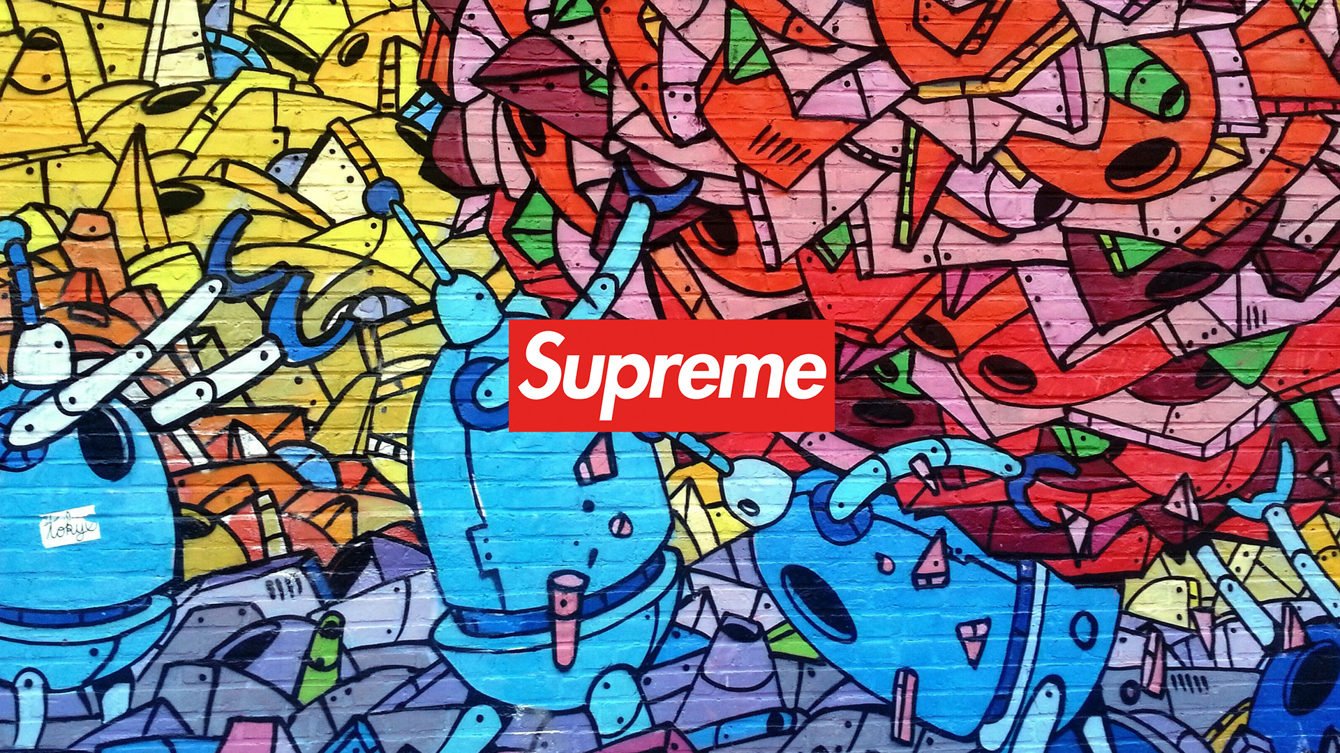 Supreme Graffiti